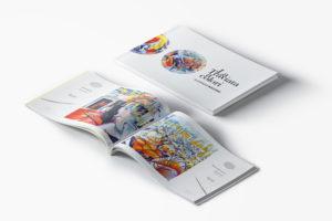 Catalogo d'arte: la mostra racchiusa in una pubblicazione editoriale