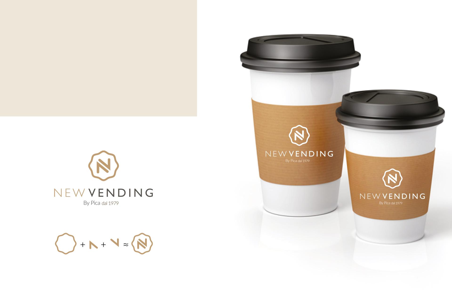 Logo-su-bicchiere-di-cartone- e installazione di distributori automatici Benevento