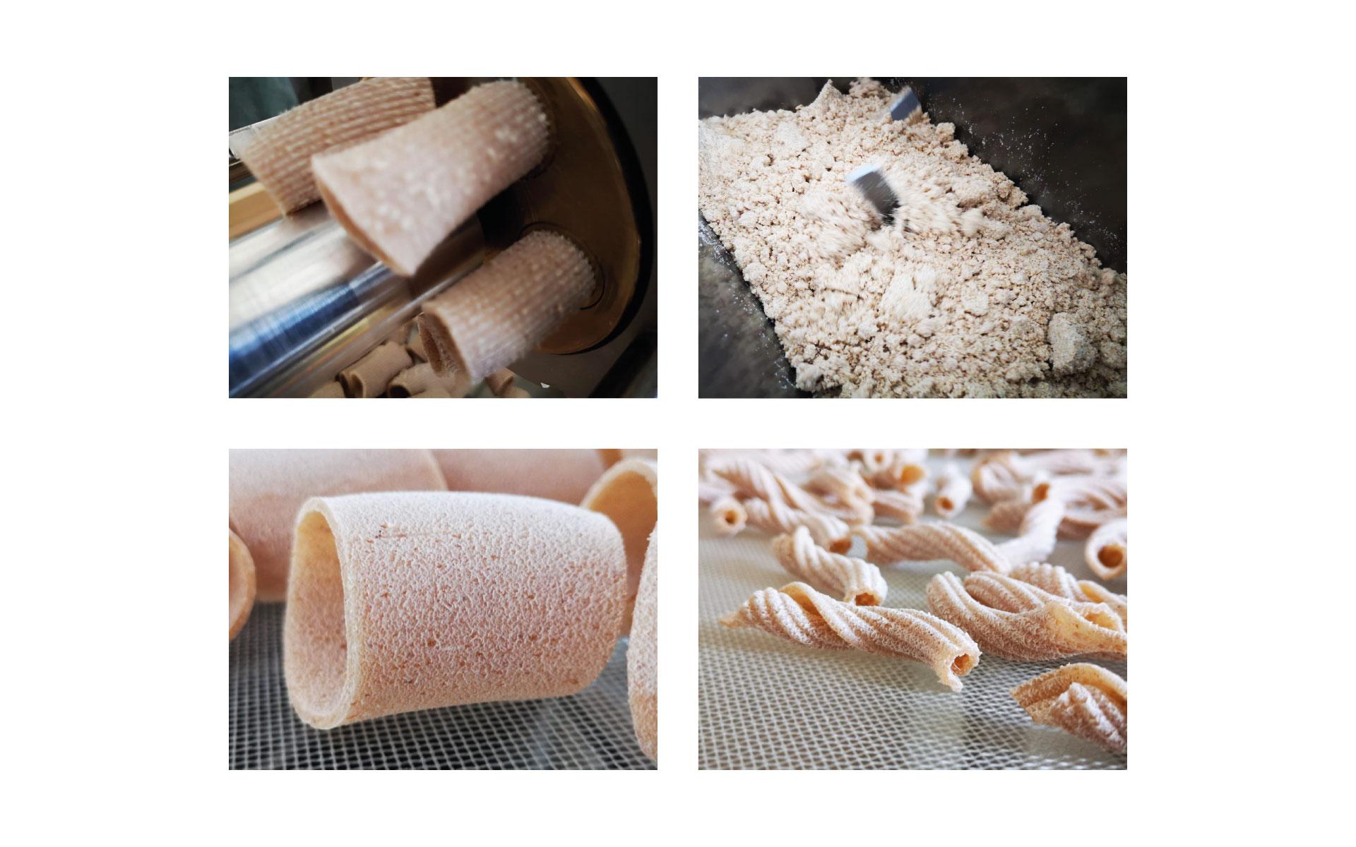 processo di trasformazione della pasta