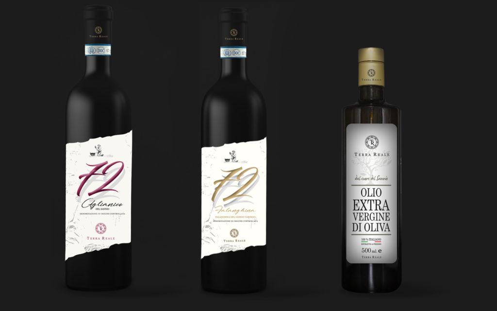 grafica per etichette vino