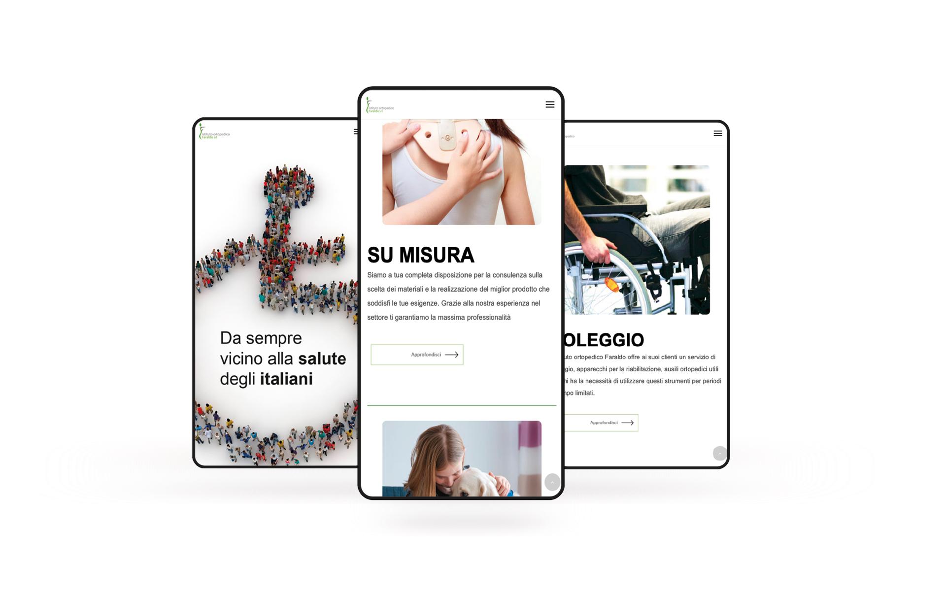 Web site Faraldo