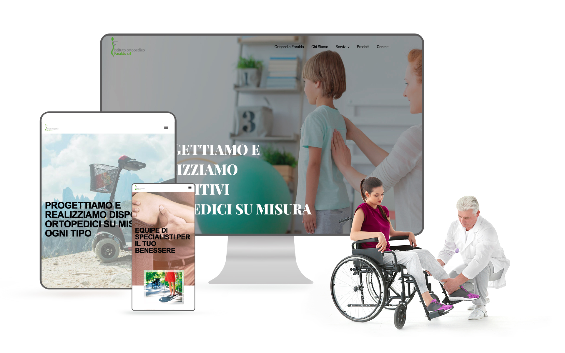 sito web ortopedia
